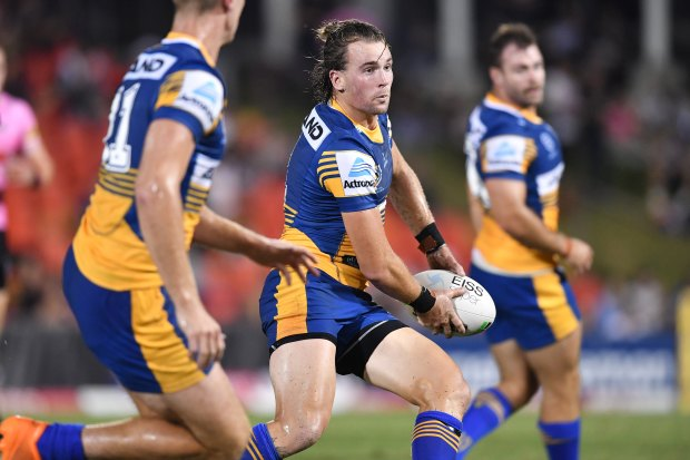 Clint Gutherson was put to the test in Saturday's trial match against Penrith.