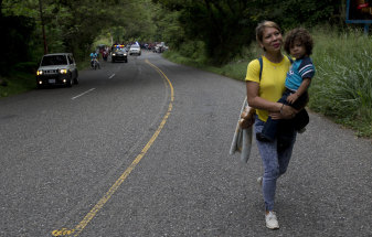 'We are not criminals': The 'March of the Migrants' reaches Guatemala