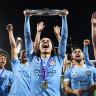Blue heaven: City all heart in maiden championship triumph