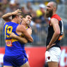 Eagles into grand final after torching Demons