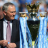 Premier coup: Former EPL boss Scudamore signs on to help A-League