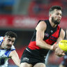 McKenna and Ward back to boost Bombers and Giants