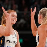Lightning knock Swifts off top spot with one-point win over Vixens