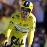 Alaphilippe extends yellow jersey lead after stunning Pau time trial