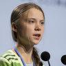 Governments, business 'misleading' on climate, teen activist Greta Thunberg said
