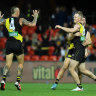 As it happened: Richmond into top four with crush win over Cats