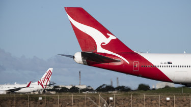 The music has stopped for Australia's big airlines - and for the rest of the international aviation industry.