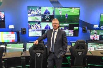 Football operations boss Steve Hocking.