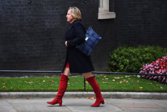 Minister Amber Rudd has quit the cabinet and the party.
