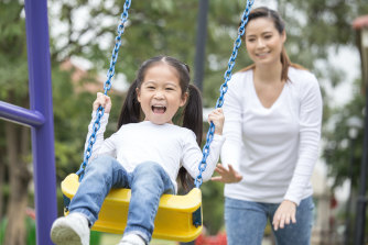 Coughing and sneezing etiquette is hard to police in a playground.