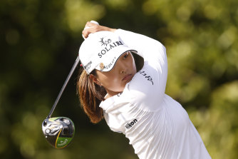 World No.1 Jin Young Ko tees off en route to another payday in Florida.