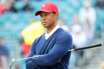Pressure on: Tiger Woods is yet to captain a team to victory.