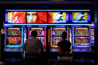 Crown Melbourne has 2628 poker machines, including 1000 which can spin without any maximum bet limit.
