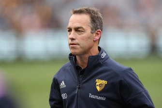 Hawthorn coach Alastair Clarkson says AFL clubs would need to be connected to a second-tier team in some manner.