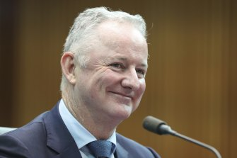 The results are the last for outgoing chief executive Hugh Marks.