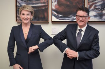 Michaelia Cash is an enthusiastic backer of Greg Vines to be director-general of the International Labour Organisation.