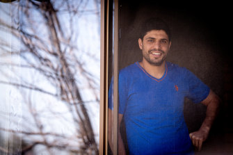 Sarmed Yassin was released from home quarantine this week in Shepparton.