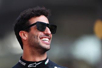 Wide berth: Daniel Ricciardo.