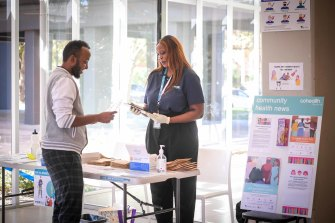 Residents mostly want to know where to get vaccinated and how to book.