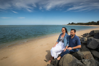 The Tomasi family love their more relaxed lifestyle in Inverloch.