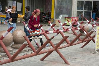China fears insurrection in Xinjiang.