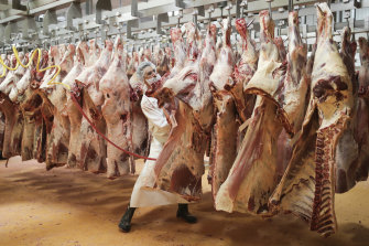 The meat industry says there is no immediate threat to supply from a cyber attack on JBS.