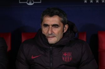 An Australia move? Former Barcelona coach Ernesto Valverde has expressed an interest.