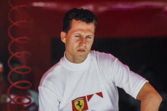 Formula One great Michael Schumacher.
