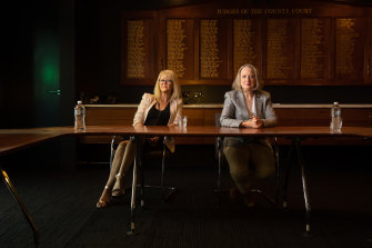 Judge Liz Gaynor and Judge Meryl Sexton have sat on the bench in the County Court for almost 40 years between them.