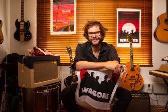 Henry Wagons is one of the many musicians who can't perform live at the moment. Fans can support their favourite artists by purchasing merchandise online.