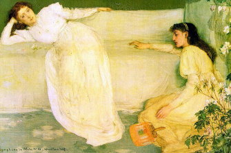 Symphony in White No 3, painted by James Whistler (1834-1903)