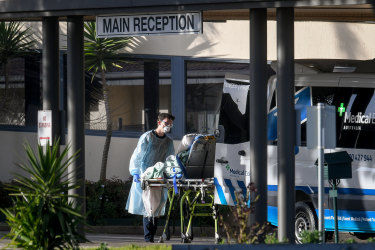 'Help me, I can't breathe': Deadly mistakes in aged care outbreak