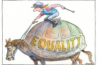 How equal is racing's equal opportunities?