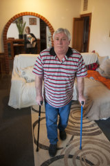 Paul Chapman has been fighting for an insurance payout after injuring his knees in a workplace accident in 2012.