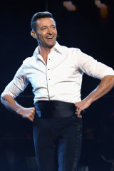 Hugh Jackman performs onstage during Hugh Jackman The Man. The Music. The Show in New York.