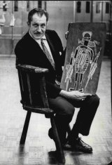 """""""Actor Vincent Price estimates he has spent more than two million dollars on works of art in the last three years."""" September 26, 1965."""