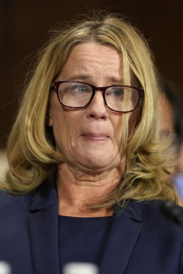Christine Blasey Ford accused Kavanaugh of sexually assaulting her when they were high school students.