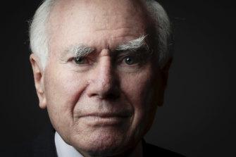 "A big fan of ""mateship"": Former prime minister John Howard."