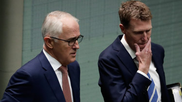 Prime Minister Malcolm Turnbull and Attorney-General Christian Porter.