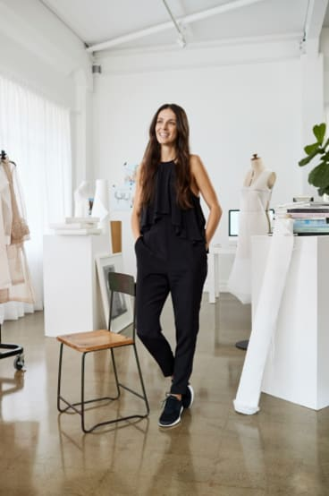 Karla Spetic arrived in Australia as a refugee and now runs her own fashion label.