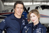 """Stephen Peacocke and Emma Hamilton in RFDS: """"I was really interested in exploring Australian masculinity, but in a gentle way,"""" says producer Imogen Banks."""
