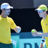 Bound for Madrid: Aussies win Davis Cup tie against Bosnia and Herzegovina