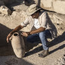 Israeli archaeologists discover ancient winemaking complex