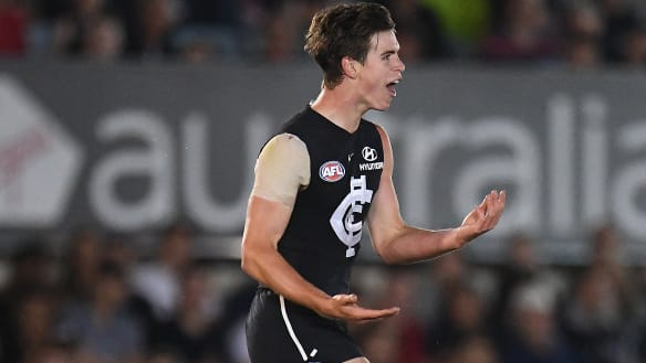 Dow's that: Extended contract for Carlton's prized recruit