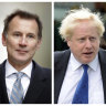 Jeremy Hunt the last 'remaining' hurdle in Boris Johnson's run to be British prime minister