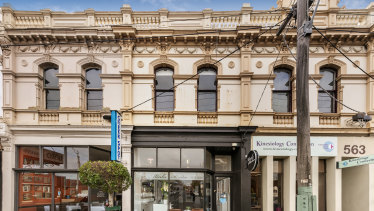 A beautiful old shop and dwelling at 561 Burwood Road.