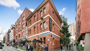 Level one of 43 Little Bourke Street is for sale.