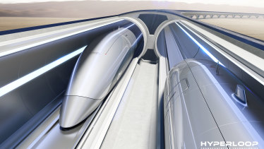 Melbourne to Sydney - in a tube?