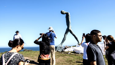 Sculpture by the Sea has been postponed because of COVID-19 restrictions on outdoor gatherings.