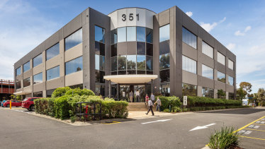 Two offices in Burwood Highway sold for for $45.85 million.